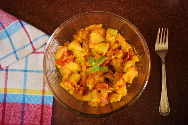 foodbymama_dahi aloo